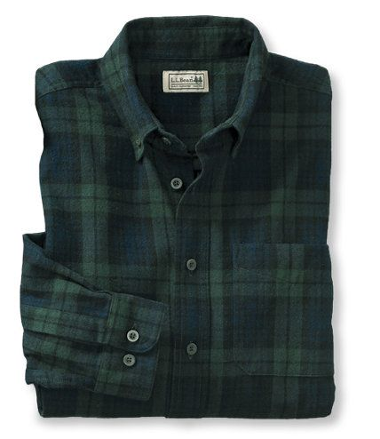 Men's Scotch Plaid Flannel Shirt, Traditional Fit: Traditional Fit | Free Shipping at L.L.Bean