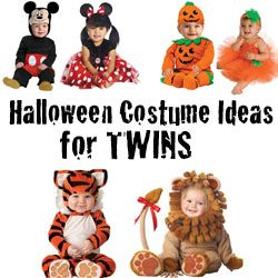 Cute halloween costume ideas for twins/multiples