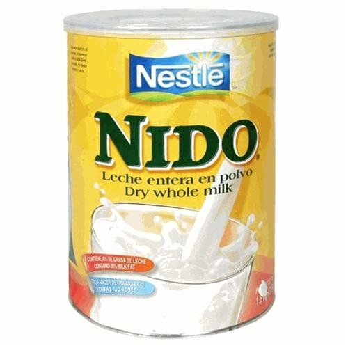 Whole milk!! This is the best, everything else you will find in the store is skim milk- look for Nido! You'll Nido the calories!