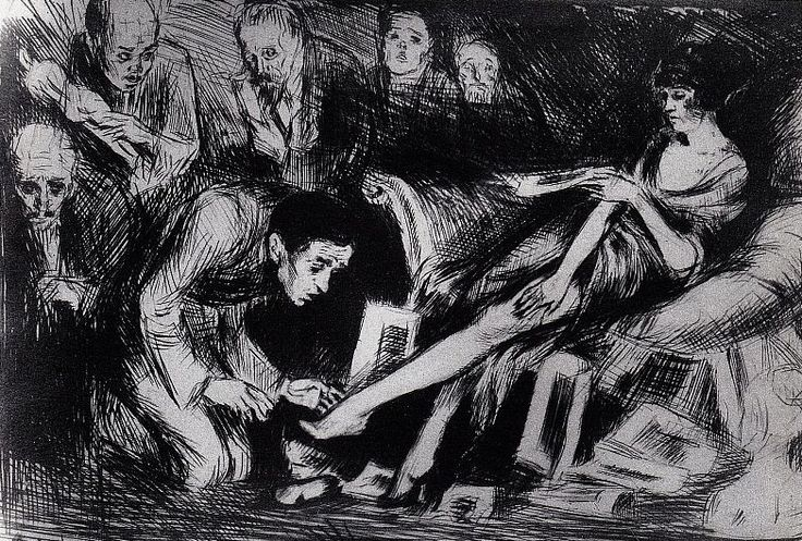 Undula with the Artists, The Book of idolatry, 1920-22 | Bruno Schulz