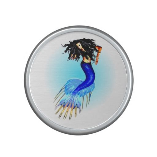 http://www.zazzle.com.au/customize_mermaid_bumpster_speaker-256755183410586967?rf=238523064604734277 Customize Mermaid Bumpster Speaker - This bumpster bluetooth speaker features a beautiful mermaid with a blue tail and long black hair.