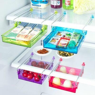 Yorbesta® 2pcs Boîtes de rangement Réfrigérateur frais cuisine Accessoires rangement table - Achat / Vente range couverts - Les soldes* sur Cdiscount ! Cdiscount