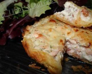 Tartelettes au saumon et au boursin par Cuisine light & autres : Savoureuse et équilibrée   Fourchette & Bikini