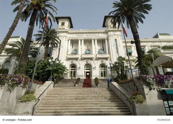 Casino of San Remo (Casino Municipale di Sanremo), Italy - The casino is one of the main attractions of the city. A lovely architecture and interesting history make this place worth your visit even if you are not not interested in gambling.
