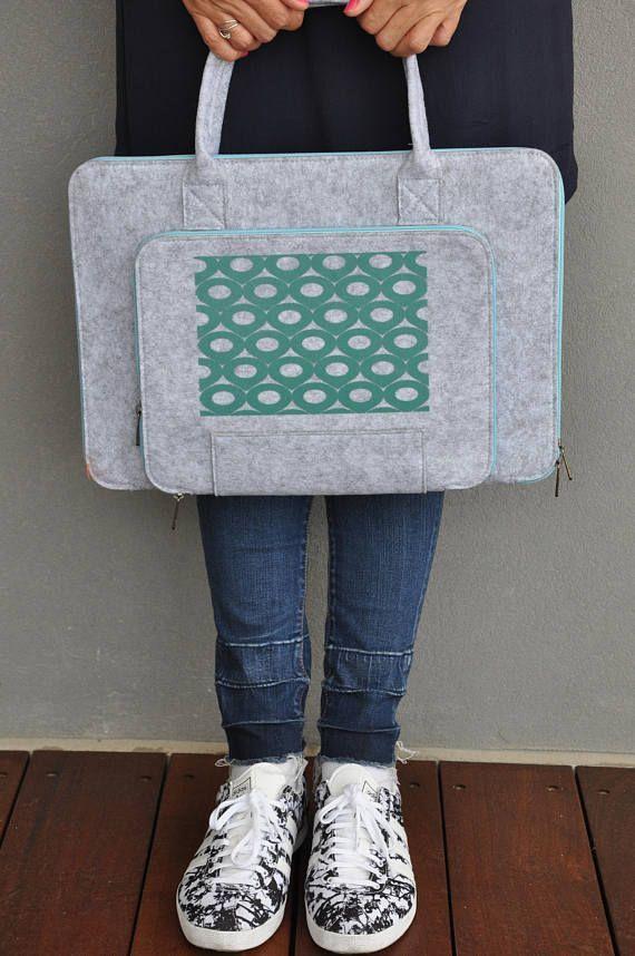 Laptop sleeve macbook pro 15 Laptop bag 15 inch Felt laptop #laptopbag   #fashion #fashionblogger #bags #boho #bohostyle #tote #totebag #style #styleblogger #fashionista