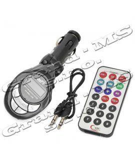 - Transmitter (FM modulátor), stačí zasunúť do autozásuvky a môžete si cez autorádio prehrávať hudbu. - Lacné, rýchle kvalitné. Doporučujem!