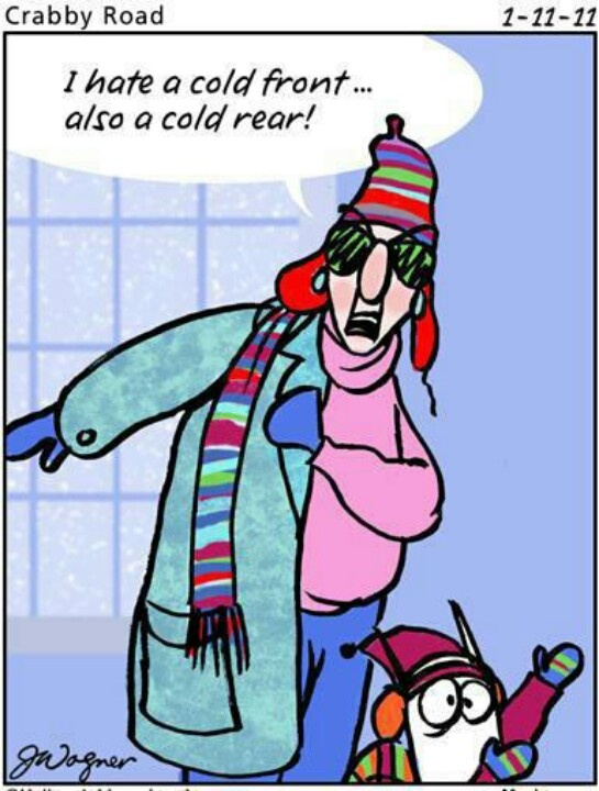 Hate cold fronts