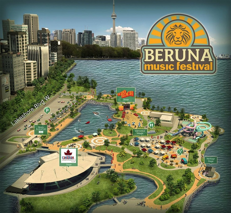 18 best 3d maps image propeller studios images on pinterest beruna music festival 3d map created by imagepropellerstudios gumiabroncs Choice Image