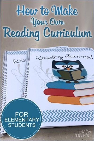 how to make your own homeschool reading curriculum