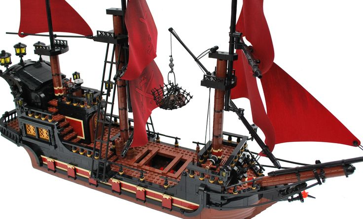 Flickr Find - Lego pirate ship - A Lego a Day