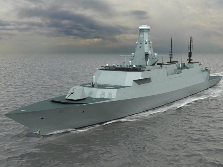 Royal Navy Type 26 Global Combat Ship