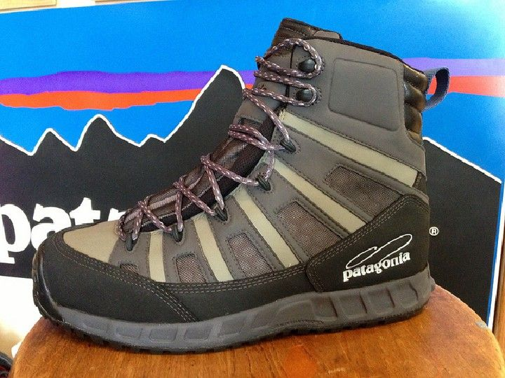 Fly fishing gear reviews patagonia ultralight wading for Fly fishing shoes