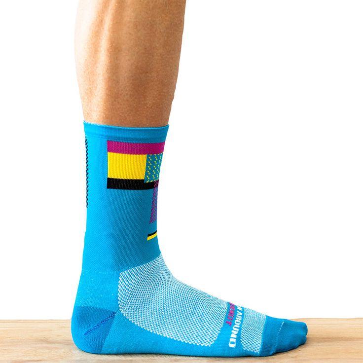 Ornot Radical Blue Sock