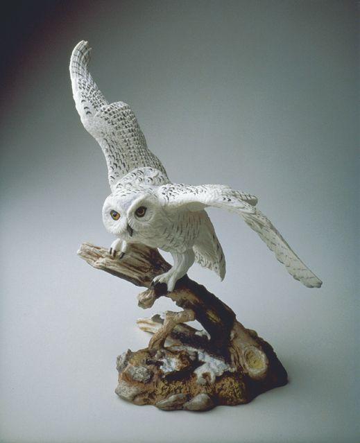 Limited Edition Boehm Snowy Owl Porcelain Sculpture Boehm Porcelain Pinterest Sculpture