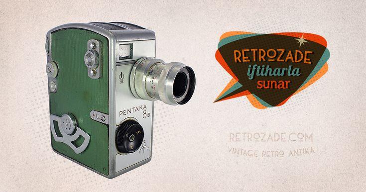 Pentaka 8B 8mm Film Kamerası