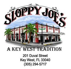 Looking for a good place to catch a drink or a bite to eat in Key West? Sloppy Joes is always tasty!