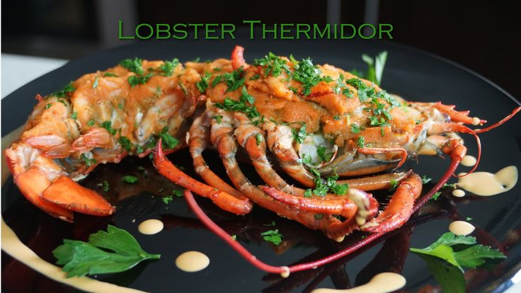 Lobster Thermidor - Bruno Albouze - THE REAL DEAL