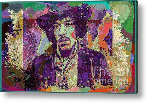 Jimi Hendrix Acrylic Print By Eleni Mac Synodinos