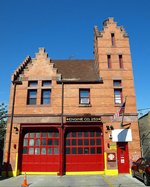 FDNY Firehouse Engine 253, Bensonhurst, Brooklyn, New York City
