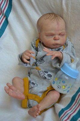 Уникальная кукла реборн, новорожденный ребенок-мальчик reborn baby недоношенные младенцы Николай мальчик арт кукла