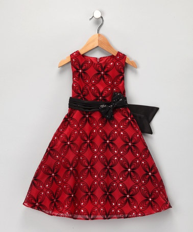 Take a look at this Red & Black Beth Dress - Infant, Toddler & Girls by Blow-Out on #zulily today! #fall