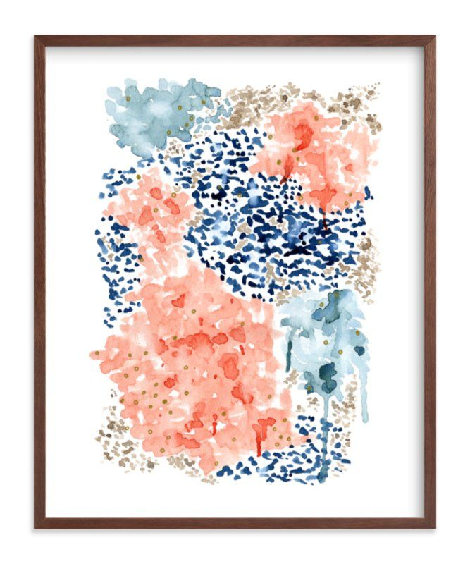 Flutter Watercolor Limited Edition Art Print By Andi Pahl In