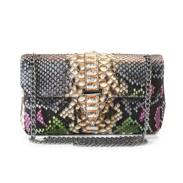 genuine python snake bag from Via La Moda