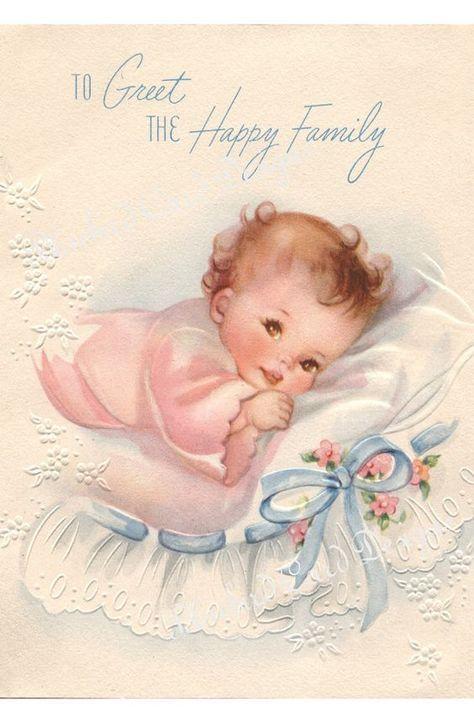 Картинки для открытки новорожденных
