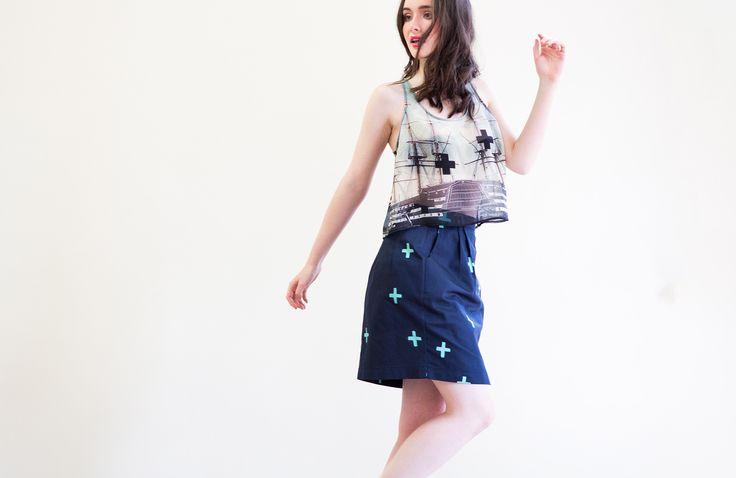 Tulip Skirt : Crosses