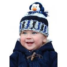 DMC Top This Yarn Penguin Hat