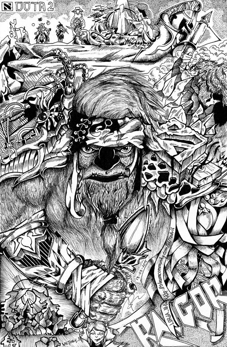 Raigor The Earthshaker DOtA 2