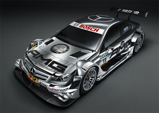 2012 Mercedes-Benz C-Coupe AMG DTM Race Car