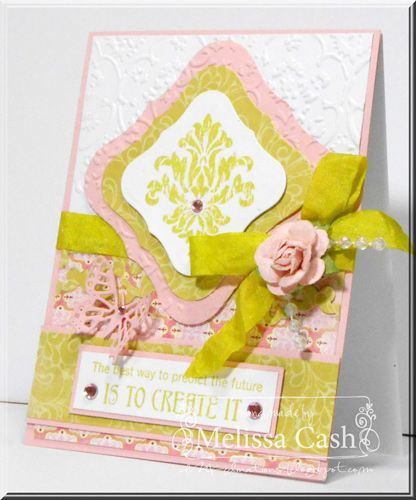 Stamps:  Rustic Floral Appetizer Set @Gourmet Rubber Stamps  Ribbon:  May Arts  Adhesivies:  Tombow @Tombow USA