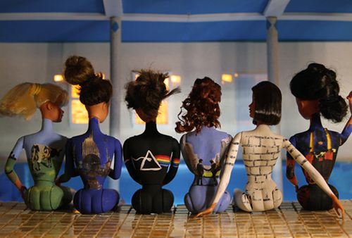 great recreation of the pink floyd back catalogue print
