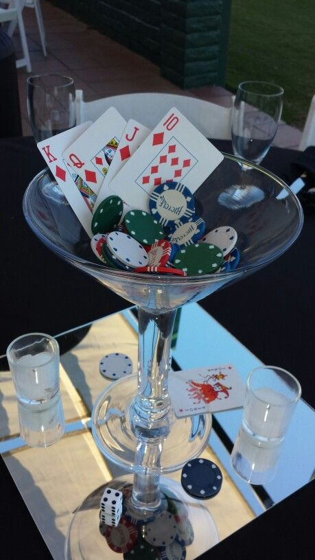 97 best images about casino party ideas on pinterest for Decor 007