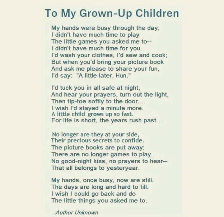 Pin By Gillian Of Nowhere On Words Make You Cry Words Grown Children