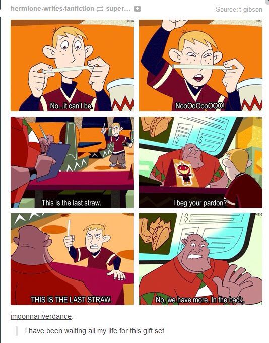Ron and the bendy straws in Old Disney Channel Kim Possible: So the Drama quote