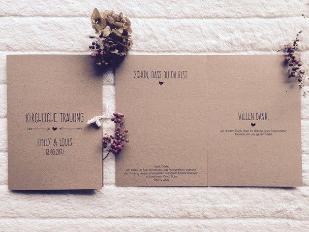 Sie sind auf der Suche nach einem zauberhaften Kirchenheft für Ihre rustikale bzw. Vintage Hochzeit? ♥♥♥ Bitte schicken Sie mir zur Bestellung den Namen des Brautpaares, das Hochzeitsdatum,...
