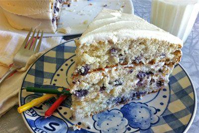 Blueberry Buttermilk Layer Cake | Desserts | Pinterest