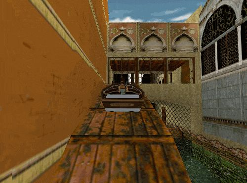 Tomb A Day #28.5 - Tomb Raider II, Level 2: Venice (Again) YEEEAH! That's not how boats work, but does anyone care?