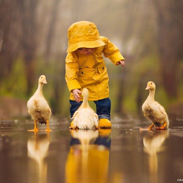 When I have kids, I would love for them to be able to play with nature freely