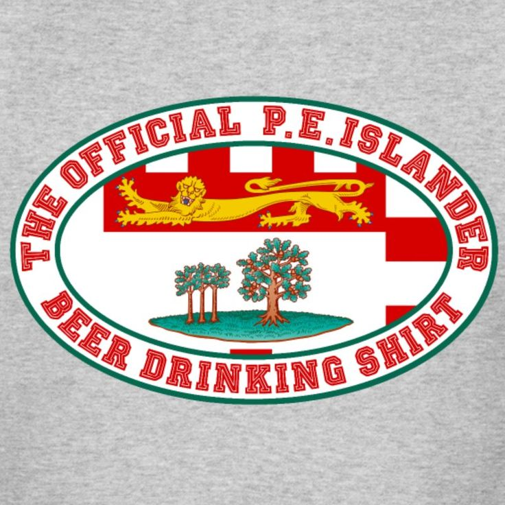 OFFICIAL PRINCE EDWARD ISLANDER  BEER DRINKING SHI - Men's Muscle T-Shirt