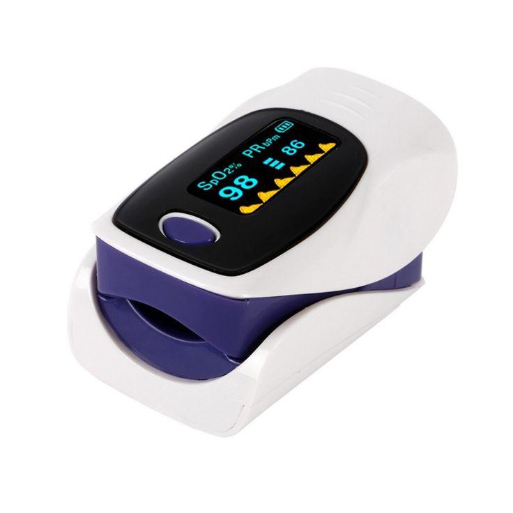 2017 Portátil de Dedo Oxímetro de pulso Monitor de Pressão Arterial Monitor de Freqüência Cardíaca Oxímetro de Diagnóstico-Ferramenta de Equipamentos Médicos