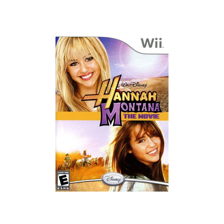 Nintendo Wii Hannah Montana The Movie, Multicolor