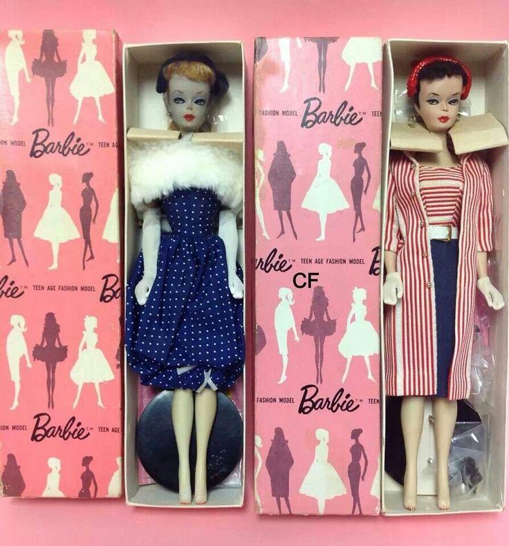 "ULTRA RARE...""Pink Box"" Dressed Barbies Dolls"
