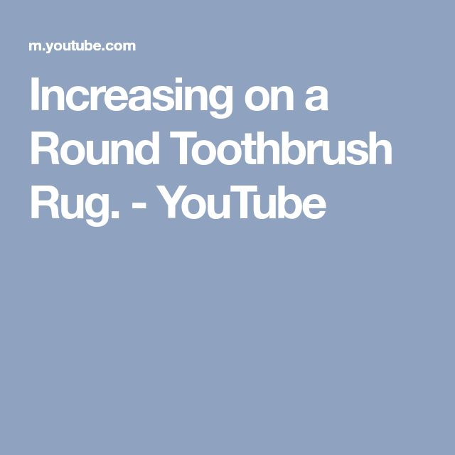 Youtube Toothbrush Rag Rug: 25+ Unique Toothbrush Rug Ideas On Pinterest