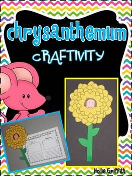 FREE Chrysanthemum Craftivity {Chrysanthemum by Kevin Henkes is the perfect book for the first few weeks of school. I love using this story to guide my students as they learn to recognize and appreciate each other's unique qualities. It is also the perfect avenue to discuss feelings, teasing, and getting along with new classmates.}