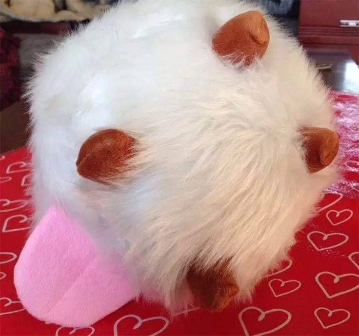25CM New LOL Poro plush toy Poro Doll Legal Edition High quality SUPER CUTE SOFT HIGH. Click visit to buy