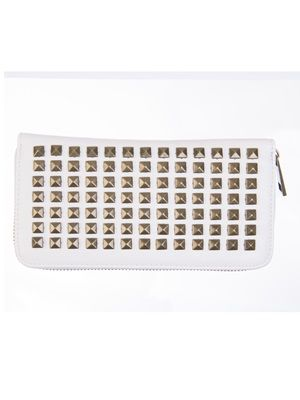 Barfota spring/summer 2014 Wallet with rivets cream www.barfota.no