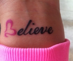 Have wanted my believe tattoo for over a year now, have wanted it in arabic ever since I went to Eygpt last year, but this is verrry cute too x